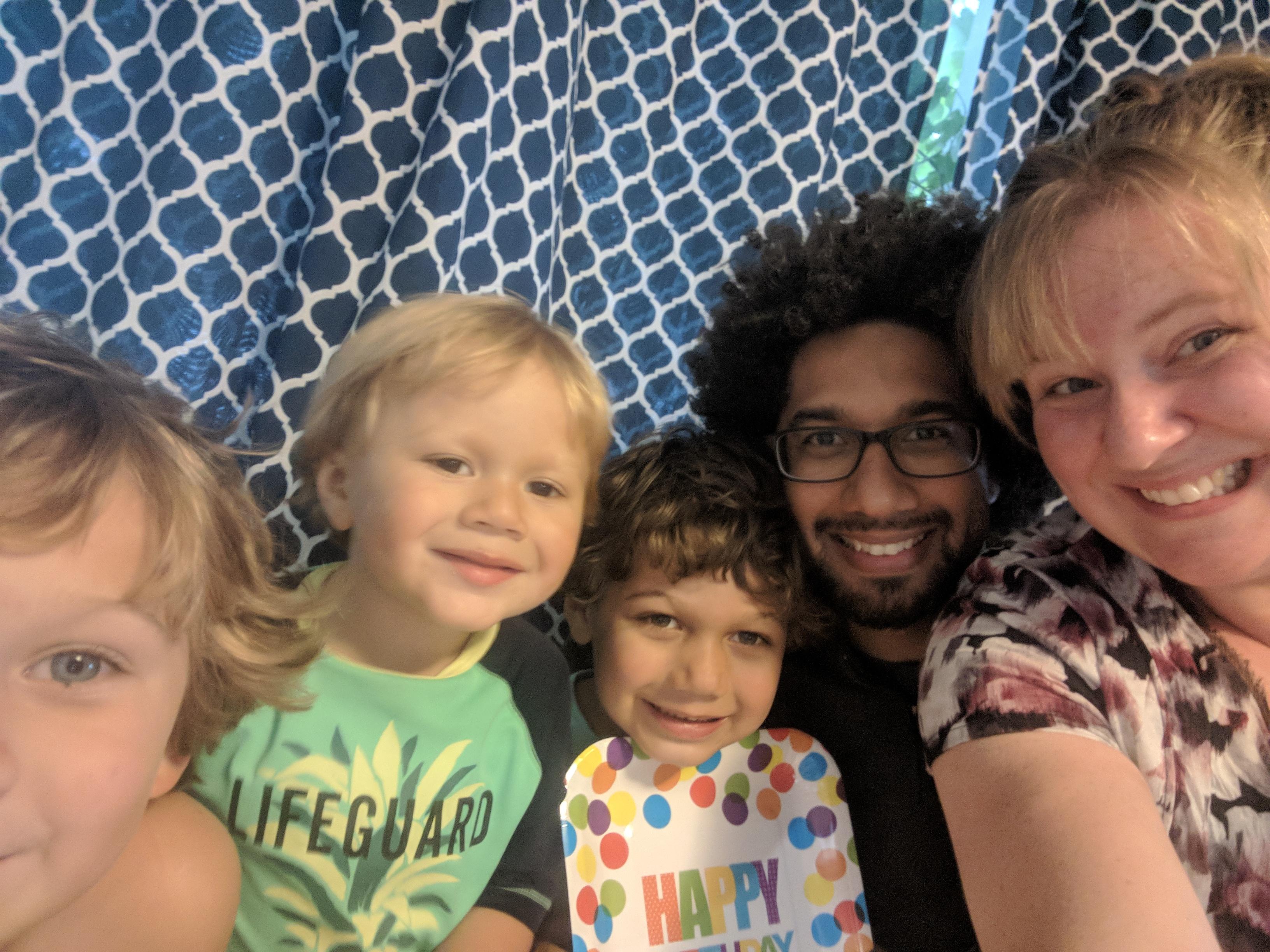 The Pobee-Mensah family