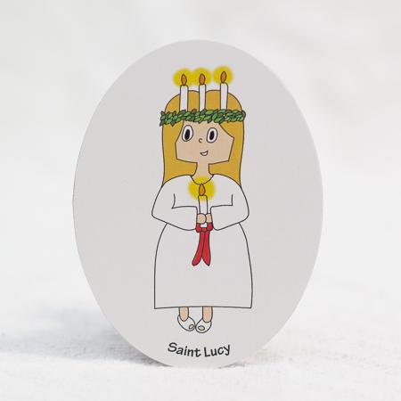 Saint Lucy magnet