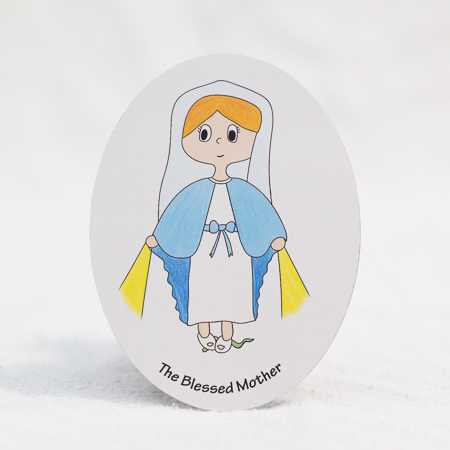 The Blessed Mother magnet