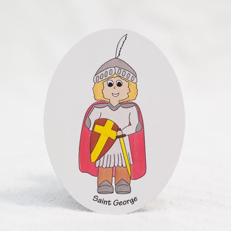 Saint George magnet