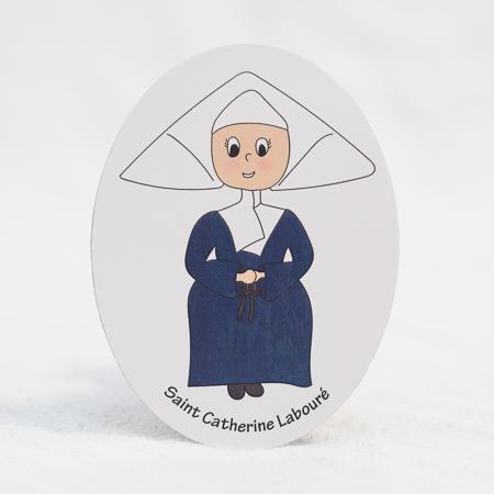Saint Catherine Labouré magnet