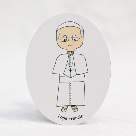 Pope Francis magnet