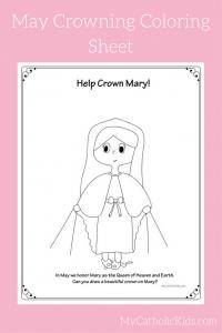 May Crowning Printables - Coloring Sheet (1)