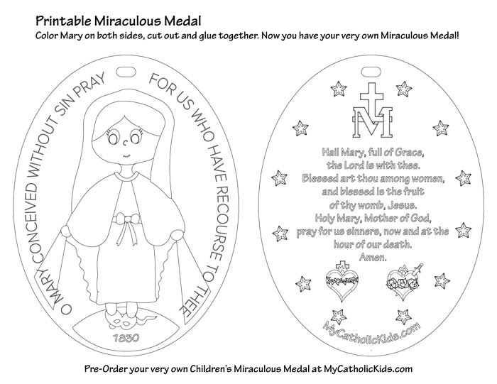 Children's Miraculous Medal