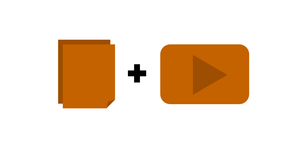 Pages and Video Icon