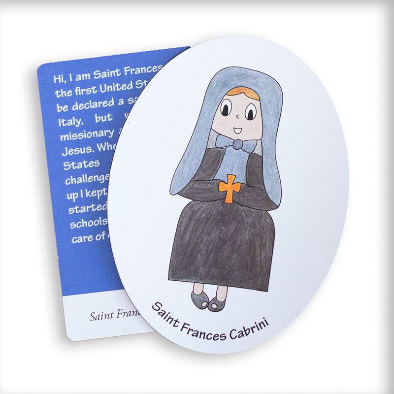Saint Frances Cabrini magnet