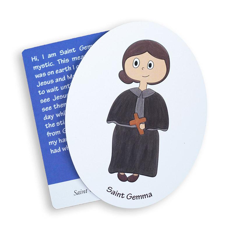 Saint Gemma magnet