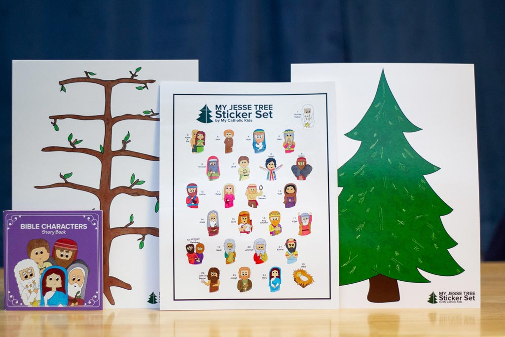 My Jesse Tree Sticker Set | Advent Tradition