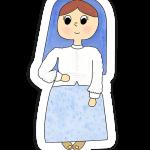 St. Jacinta Sticker