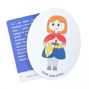 Saint Joan of Arc magnet
