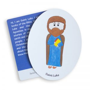 Saint Luke magnet