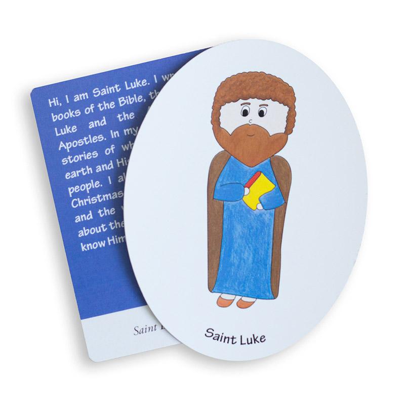 Saint Luke magnet