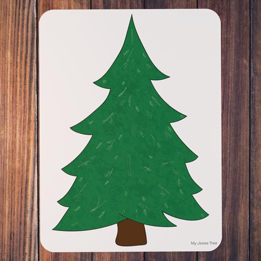 Evergreen My Jesse Tree magnet board