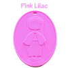 Children's Miraculous Medal - Pink Lilac