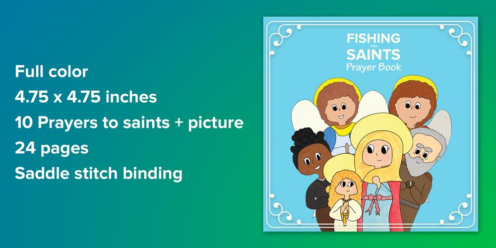 Fishing for Saints prayer book