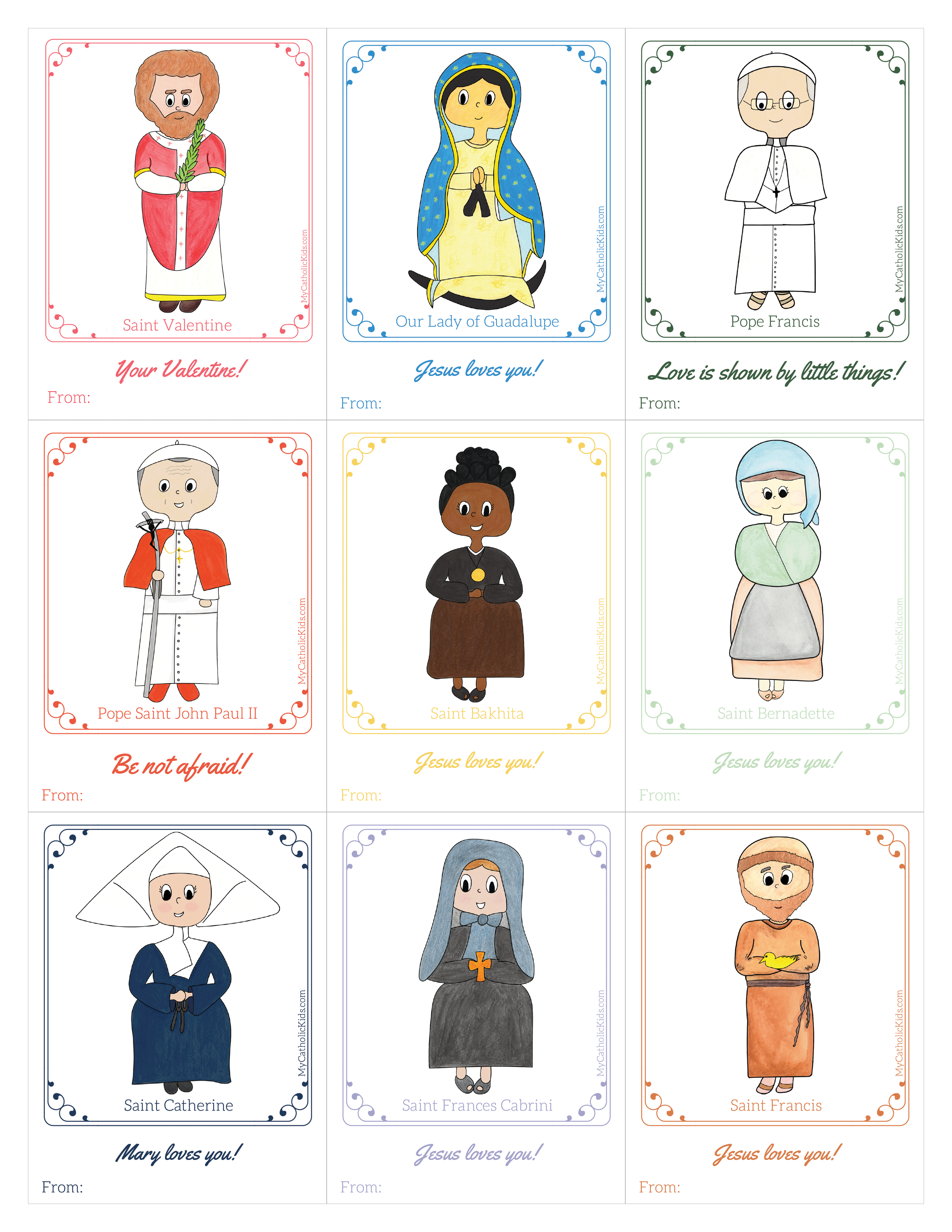 Valentines of the Saints